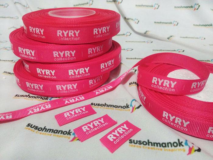 Label Grossgrain Ryry