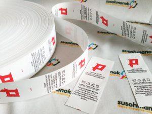 kelebihan label baju printing