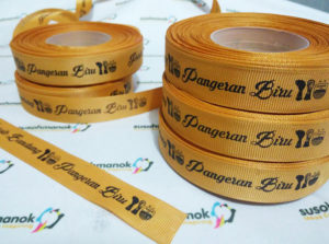 Label Baju Grossgrain persib